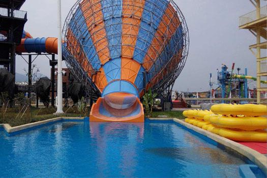 Water Park Polyurea Waterproof