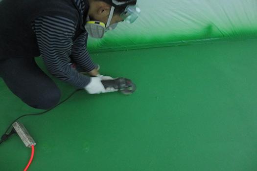 Industrial Floor Polyurea Coating