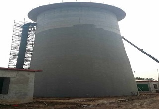 Handan Section Suporting Project Water Tower Anti-seepage